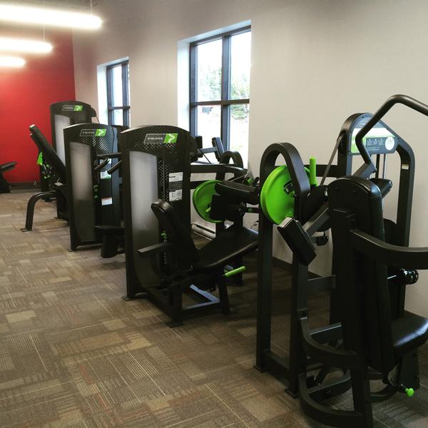 interior of bedford gym
